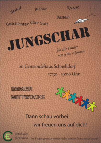 Flyer Jungschar